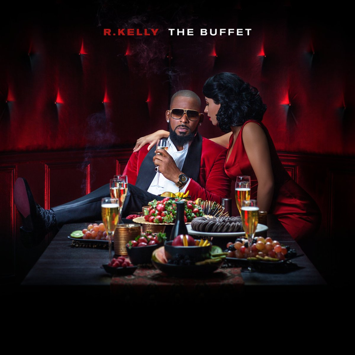 R. Kelly - The Buffet (Deluxe Edition Cover)