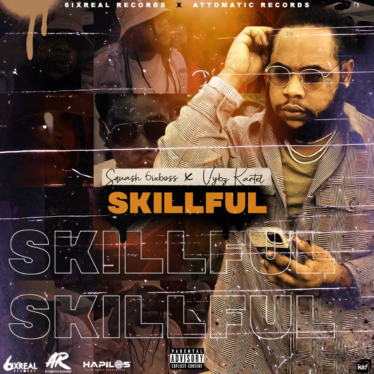 Squash - Skillful (Remix) (ft. Vybz Kartel) (Cover)