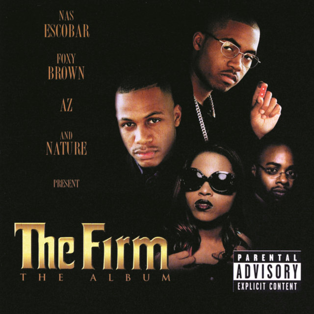 The Firm - The Album (Cover)