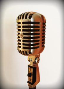 Foto: Retro Mikrofon