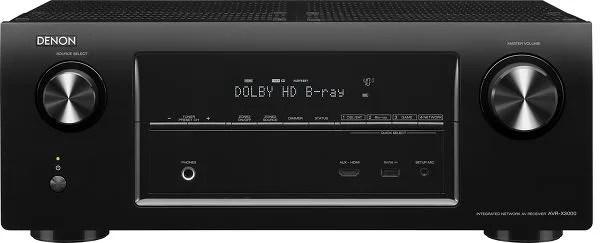 Denon AVR-X3000 face avant