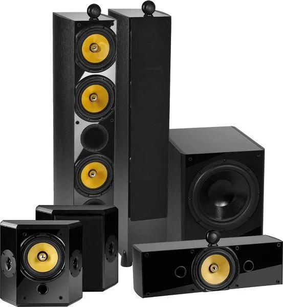 Crystal Acoustics TX-T3 System 5.1