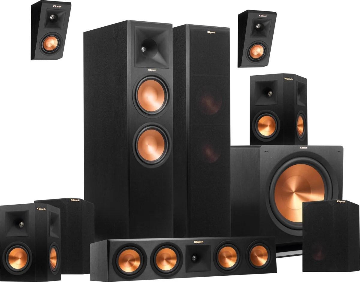 Klipsch Rp 280 Atmos System 7 1 2 Packs
