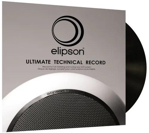 Le disque de test pour platine vinyle Elipson Ultimate Technical Record