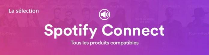 Spotify: tous les produits compatibles