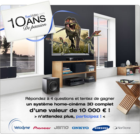 Concours Home-Cinéma 3D