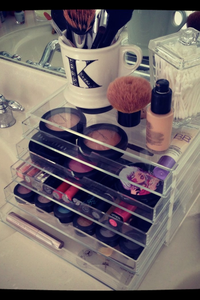 Acrylics: Make Up Organisers