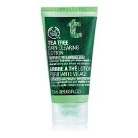 tea tree oil lotion