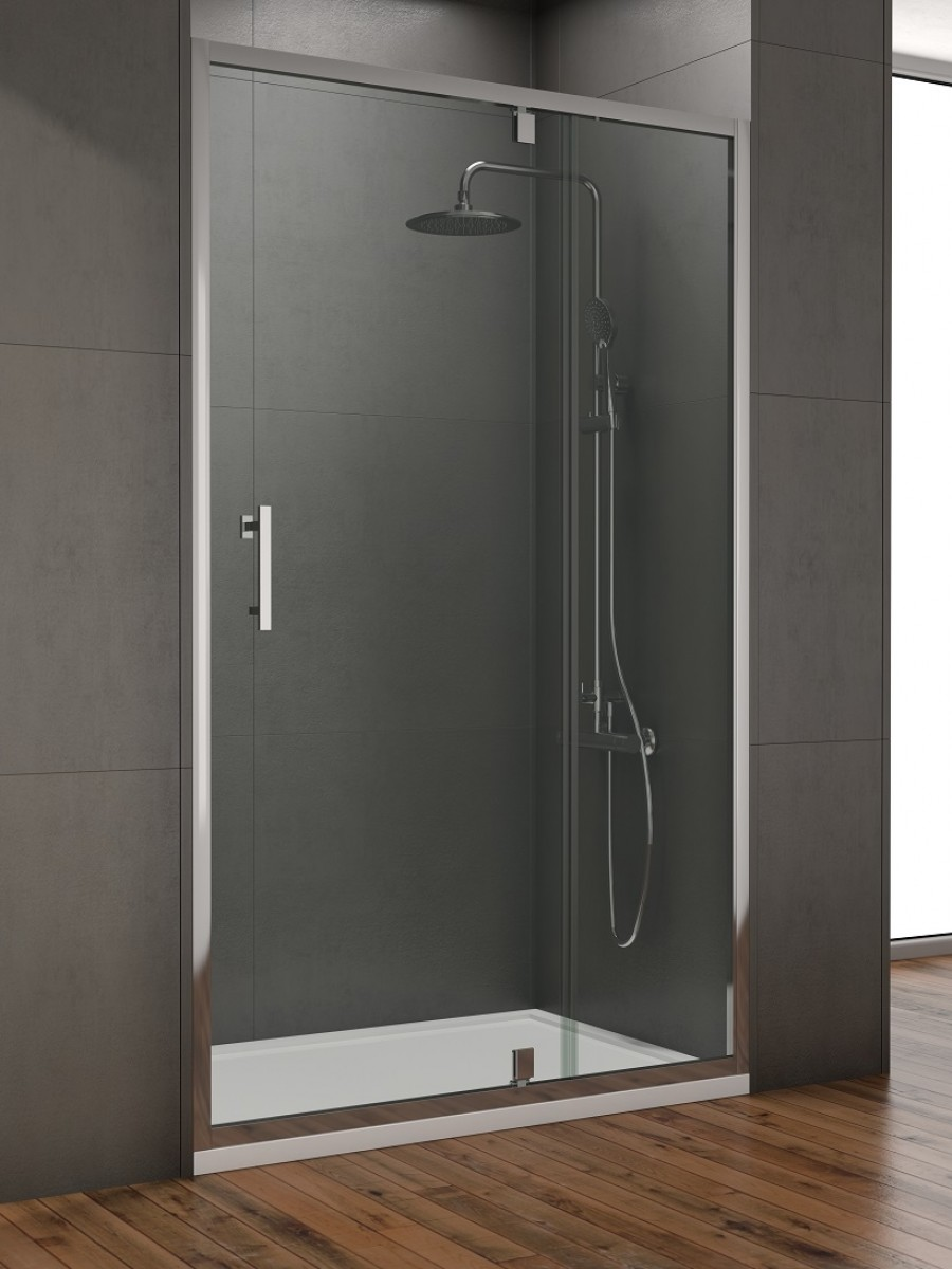 Style 1100mm Inline Pivot Shower Door Adjustment 1050 1090mm