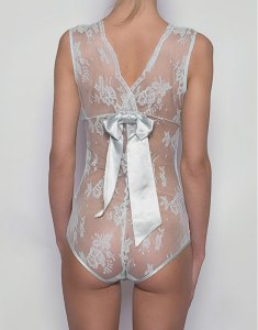 Opaline Ribbon Bodysuit by Sonata London