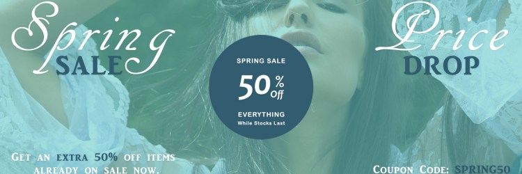 Spring Sale Price Drop at Sonata London