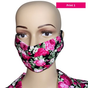 Sonata London Liberty Print Pleated Face Mask