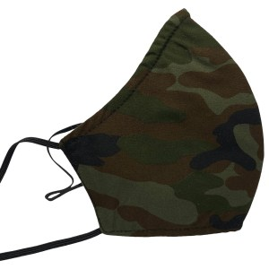 Sonata London Mens Face Mask Camouflage