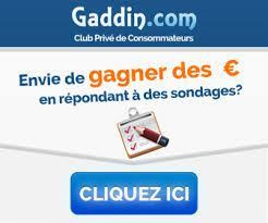 gaddin sondage