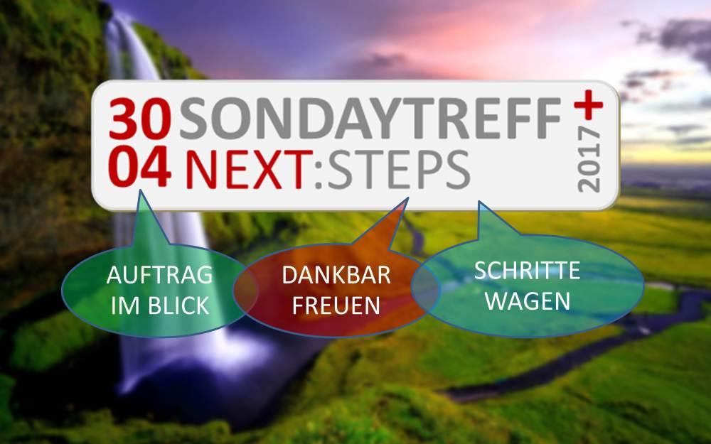 30.04. | SONdayTREFF NEXT:STEPS