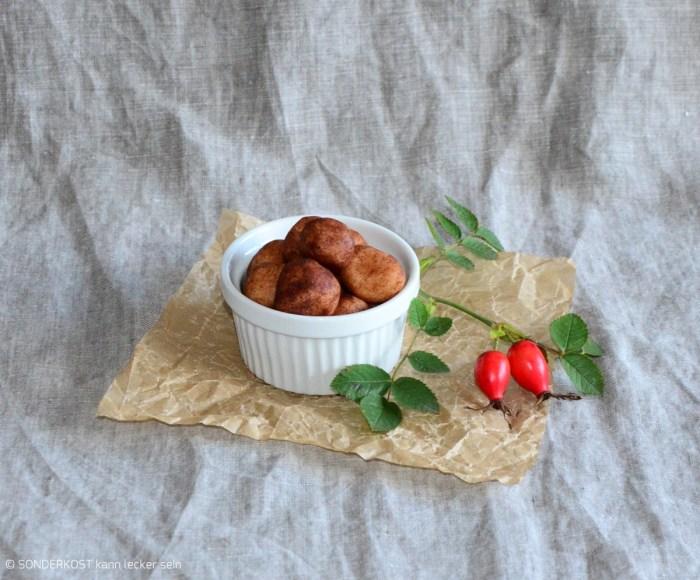 Marzipankartoffeln mit Zimt- Kakao