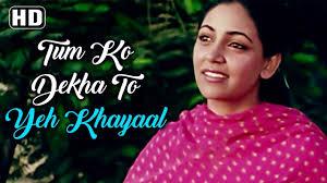 Tumko Dekha To Ye Khayal Aaya
