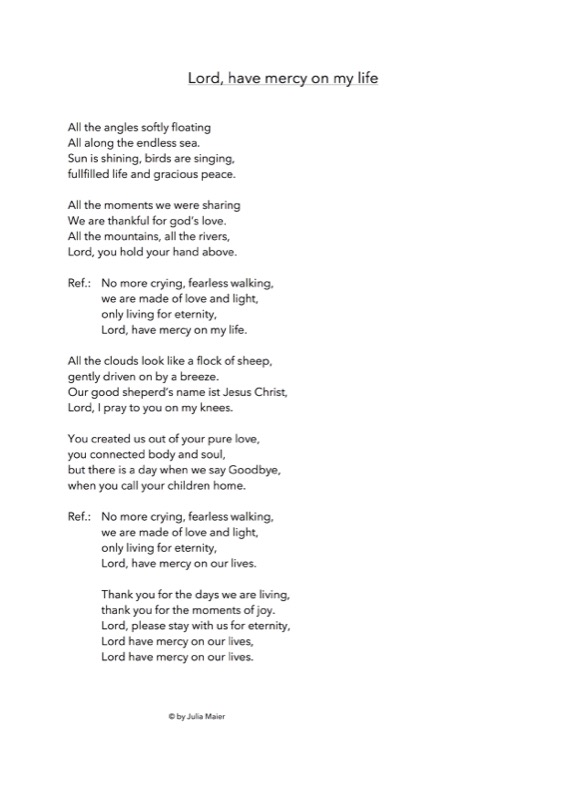 Lord Have Mercy On My Life Lyrics