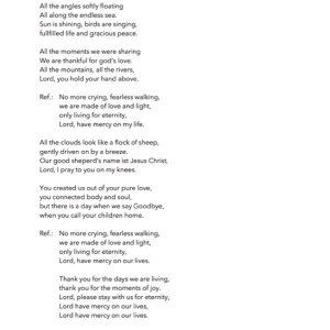 Lord have mercy on my life Lyrics_English