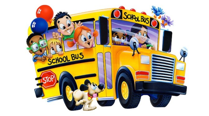 School buses are running again …