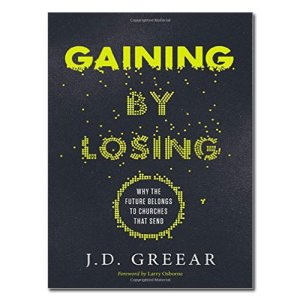 Gaining by losing book cover