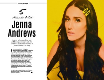 5 minutes with… Jenna Andrews