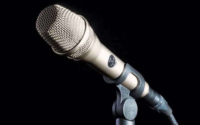 AKG C636 mic