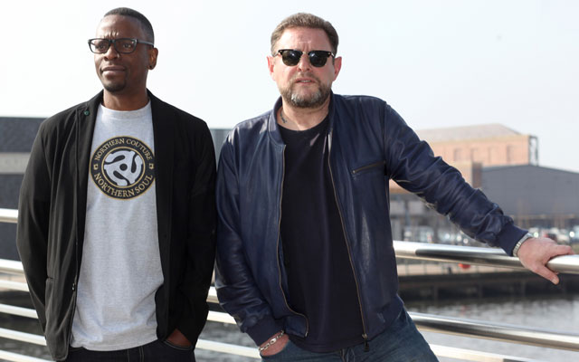 Black Grape's Kermit and Shaun Ryder