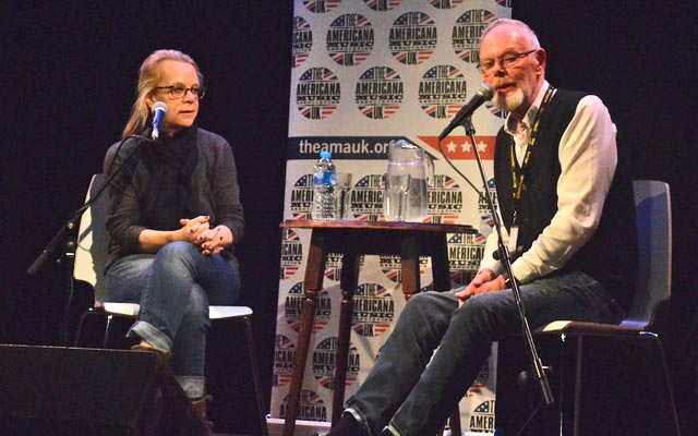 Bob Harris and Mary Chapin Carpenter