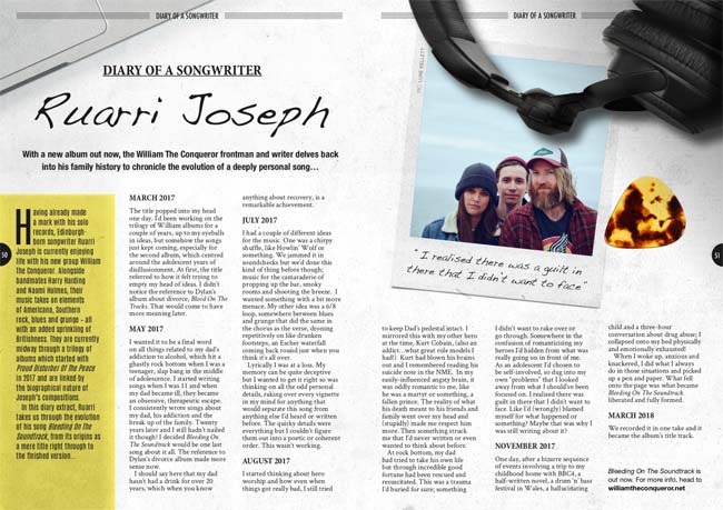 Diary of Ruarri Joseph