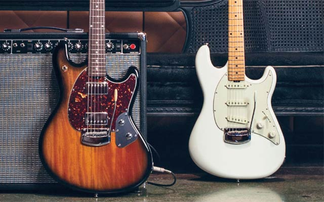 Ernie Ball Music Man StingRay and Cutlass