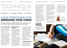 Four strategies for improving your lyrics