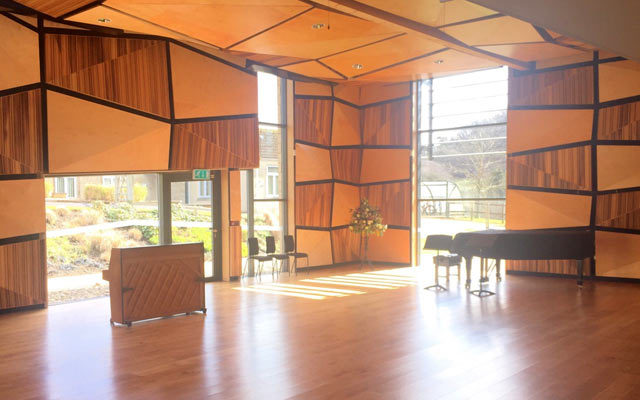 Music facility at Monkton Combe school