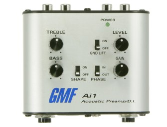 GMF Music introduces a new acoustic DI with preamp