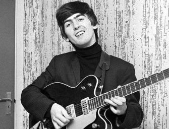 George Harrison guitar sells for more than £300,000
