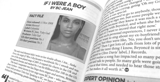 How I Wrote – Beyonce
