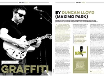 How I wrote 'Graffiti' by Maxïmo Park's Duncan Lloyd