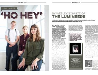 How I wrote 'Ho Hey' by The Lumineers' Wesley Schultz