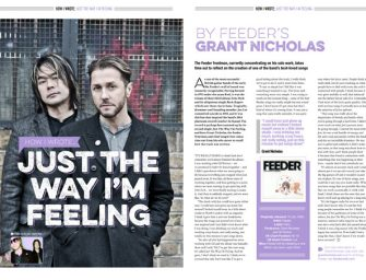 How I wrote 'Just The Way I'm Feeling' by Feeder's Grant Nicholas