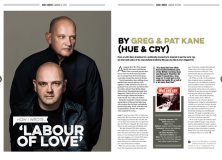 How I wrote 'Labour Of Love' by Hue & Cry