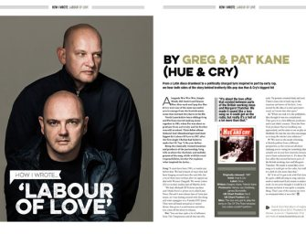 How I wrote 'Labour Of Love' by Hue & Cry's Greg and Pat Kane