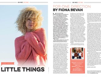 How I wrote One Direction's 'Little Things' by Fiona Bevan