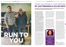 How I wrote Whitney Houston's 'Run To You' in Songwriting Magazine Summer 2018