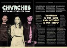 Chvrches in Songwriting Magazine Summer 2018