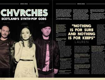 Interview: Chvrches