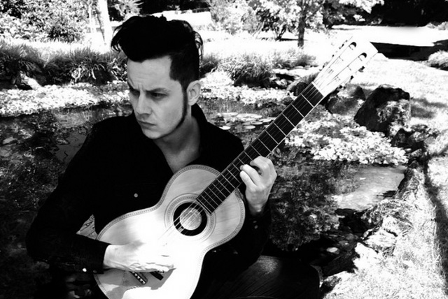 """Jack White: """"I'm one doing the grunt work, the guy back here in the trenches, hitting the boom booms."""""""