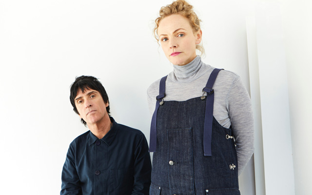 Johnny Marr and Maxine Peake