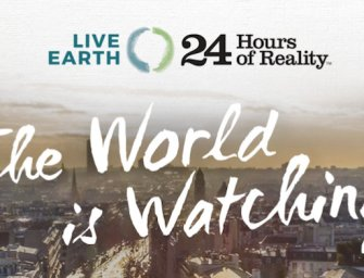 Stars come out for 24-hour climate change telecast