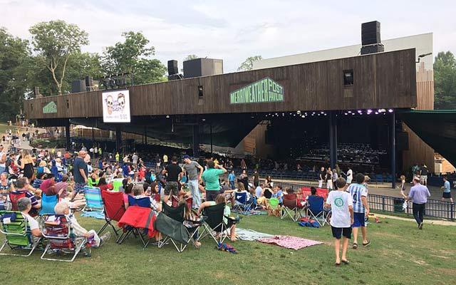 Merriweather Post Pavilion in Columbia, Maryland
