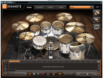 Review: Toontrack EZdrummer 2